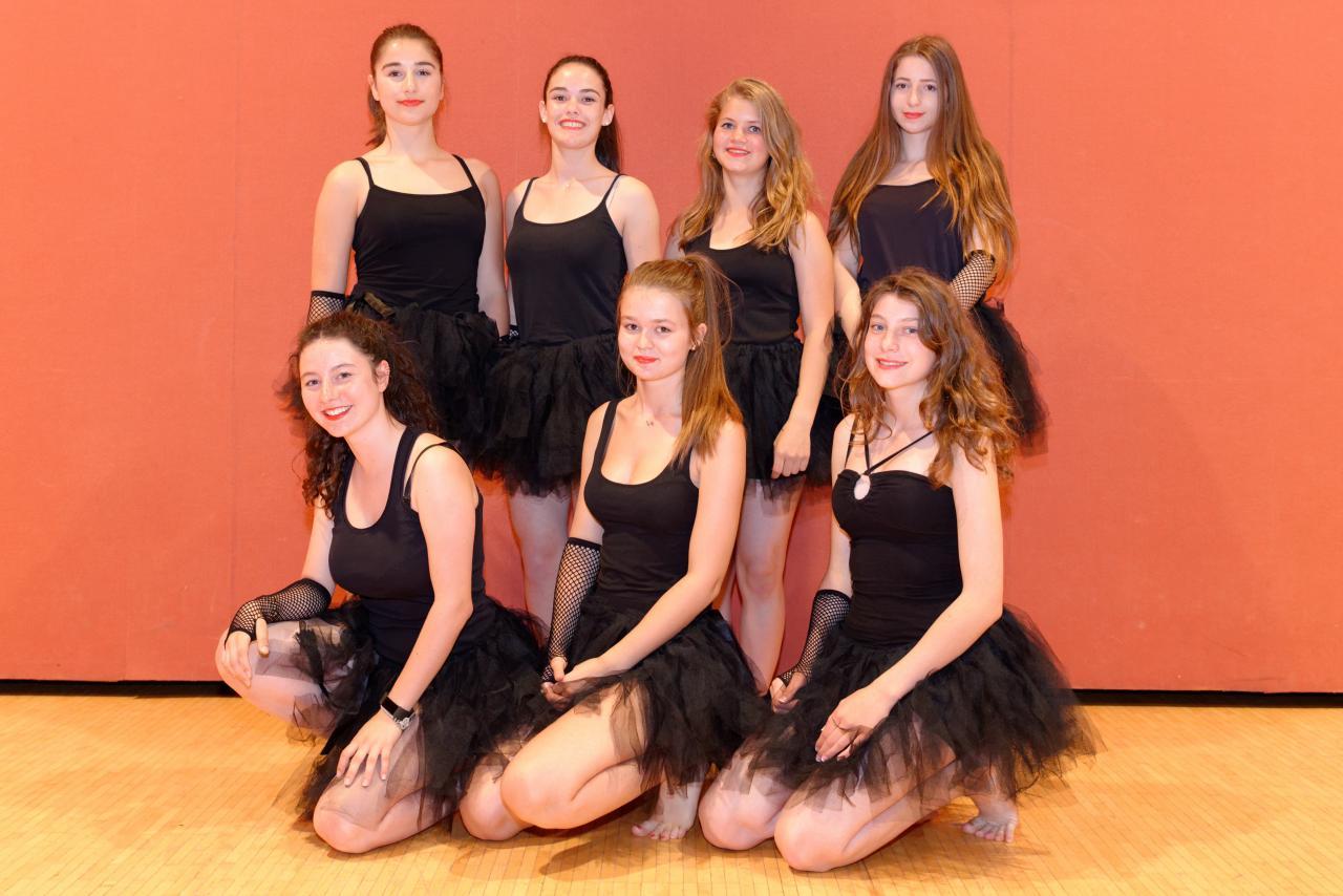 groupe ados danse