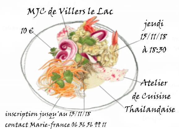 Atelier cuisine nov 2018